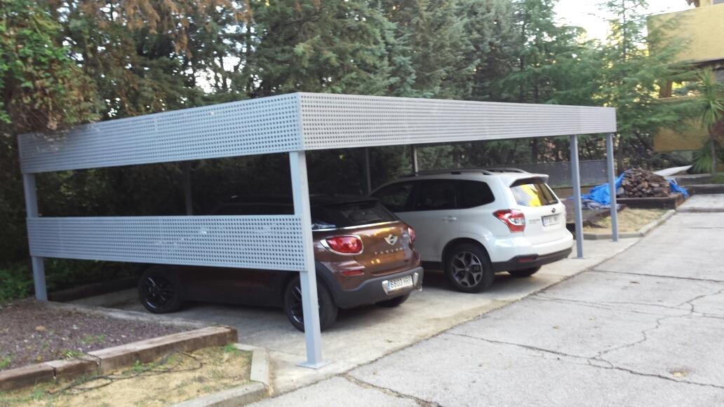 P rgolas para coches en las rozas talleres reoyo 3 - Pergola para coche ...
